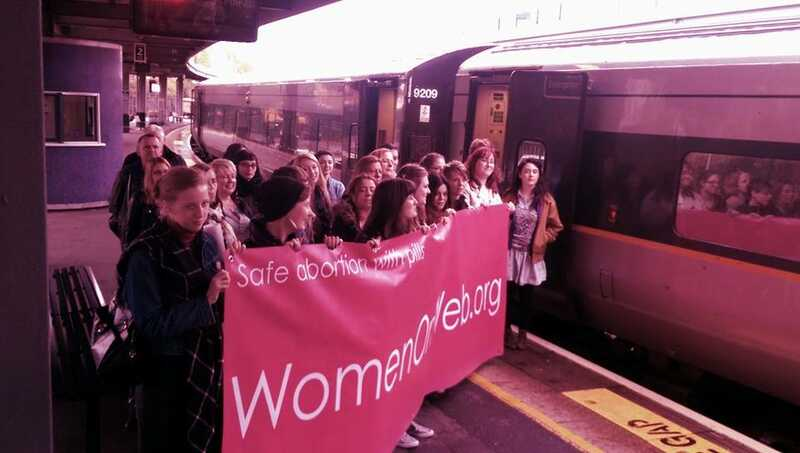 Rosa women on web action Ireland