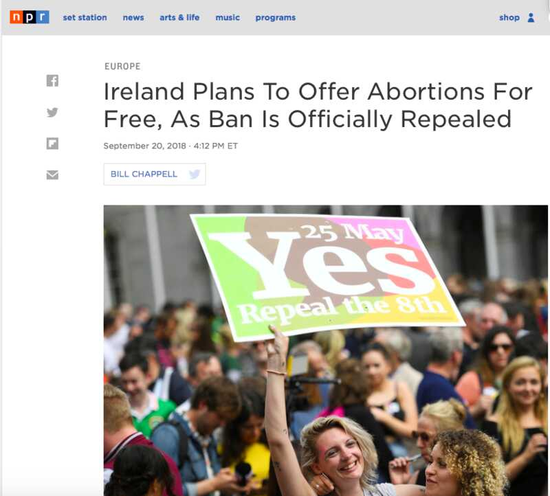 abortion for free in Ireland