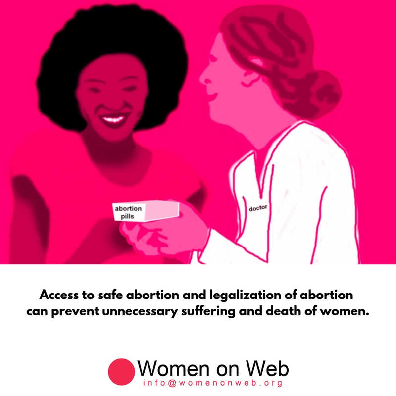 access to safe and legal abortion